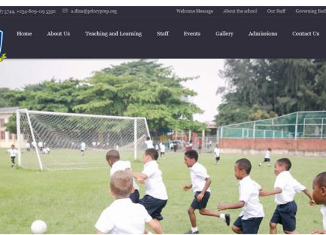 Priory Prep School Website
