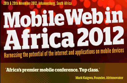MobileWeb in Africa 2012